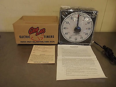Gra Lab 165 Electric Darkroom/Manufacturing Process Timer-New Open Box-m1210