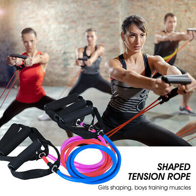 Pull Rope Elastic Rope Multifunctional Training Equipment Rubber Band Belt Gym