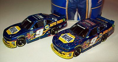Chase Elliott 2014 NAPA 2-Car Raced Set Collector Can NAPA Know How 1/64 NASCAR