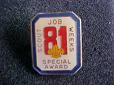 81 Scout Jobs Week Special Award Scouts Badge