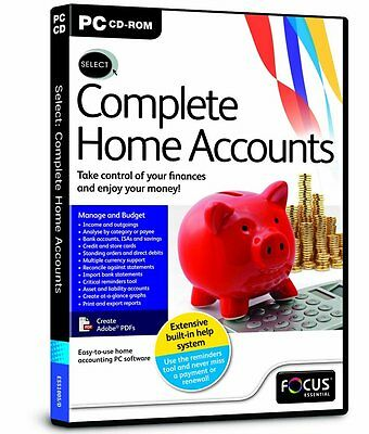 Select Complete Home Accounts (PC-CD) BRAND NEW SEALED