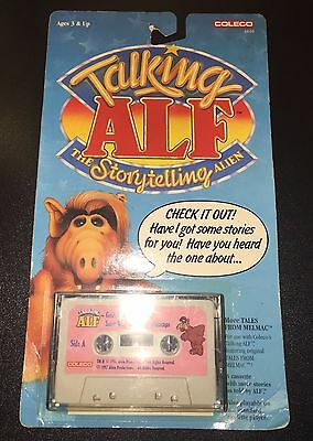 New Vintage Talking ALF Cassette Tape Goldi-Alf Snow White and the 7 Whitecaps