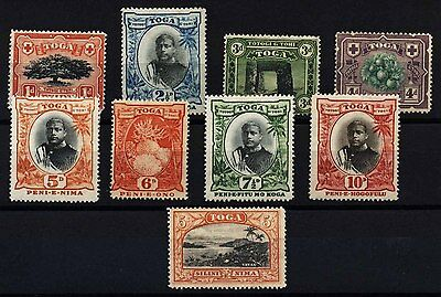 18597-1934 Tonga Turtle Wmk Definitives Royalty Coral Mint Stamp S49