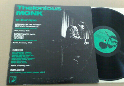 Thelonius Monk In Europe 1987 Heart Note Records Sweden Lp
