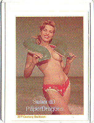 BETTIE PAGE - Bunny Yeager's Bettie Page - Girls of the Fifties Chase Card BY3