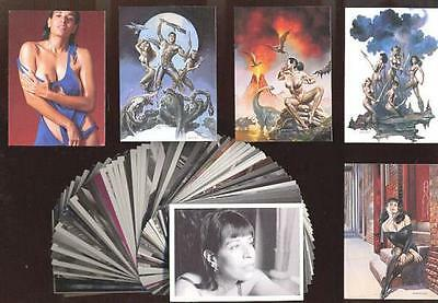 BORIS VALLEJO 7 - JULIE BELL - Images of Josephine 72 Card Set - FREE US Shippin