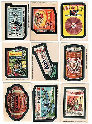 1975 Topps Wacky Packages 14th Series 14  White Back WB Complete Set 30/30 EX+
