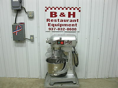 HL 20 Qt Bakery Dough Mixer w/ Stainless Bowl Guard Hook Whip Paddle M20A