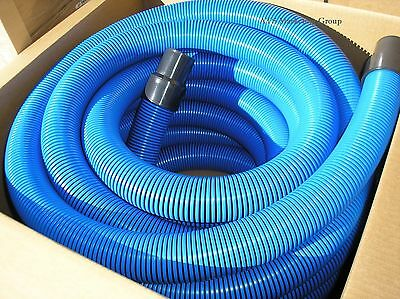 "Carpet Cleaning Truck-Mount 50'  Vacuum Hose 2"" Blue"