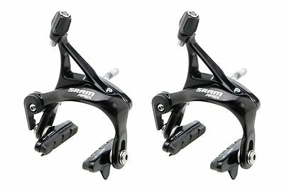 SRAM APEX FRONT & REAR BRAKE CALIPER SET ROAD BICYCLE fits RED RIVAL FORCE NEW