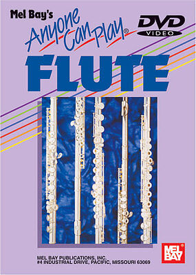 Anyone Can Play Flute *new* Beginner Dvd