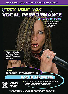 Rock Your Vox - Vocal Instruction - Learn To Sing Dvd