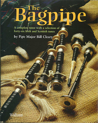 COMPLETE BAGPIPE TUTOR Book - 46 Irish & Scottish Songs