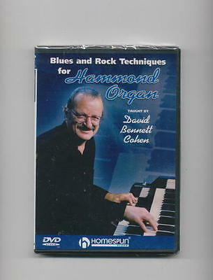 Hammond Organ B-3 Blues Rock Technique Dvd Drawbars