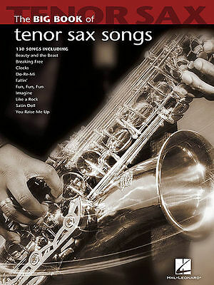 Big Book Of Tenor Sax Saxophone Songs Songbook New