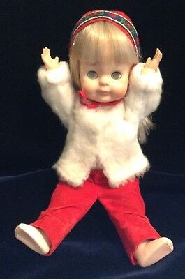 """Vogue Doll 1964 """"Little Angel"""" 11"""" Sleepy Eye In Nordic Outfit"""