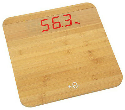 Digital Scale Bamboo Tfa 50.1011.26 Dms Sensors Wood Treads 150Kg