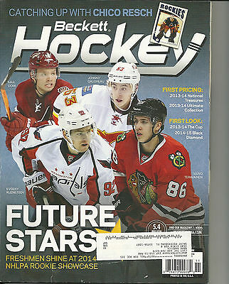 Hockey Card Price Guide Beckett Nov 2014 Future Stars Cover