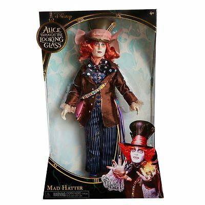 "Alice Through the Looking Glass 11.5"" Deluxe Mad Hatter Collector Doll"