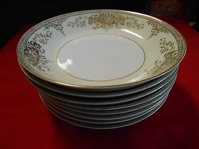 Beautiful VINTAGE Dinnerware KONGO China STS ...Set of 7 SOUP Bowls
