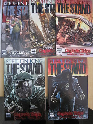 "STEPHEN KING : The STAND : ""CAPTAIN TRIPS"" complete 5 issue series. MARVEL. 2008"