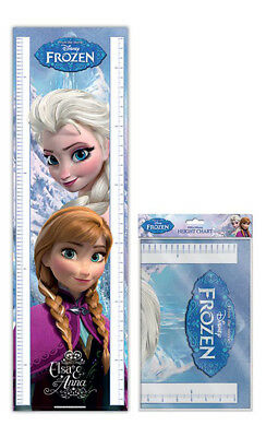 Messleisten - Frozen (Anna & Elsa) Disney Eiskönigin 30x100 cm - height chart