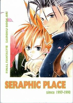 Final Fantasy 7 VII doujinshi Zack x Cloud Sephiroth x Cloud Seraphic Place