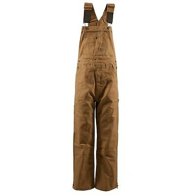 Berne Men's Original Unlined Duck Bib Overall B1067BD