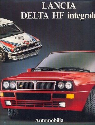 Lancia Delta HF integrale excellent history book - BRAND NEW