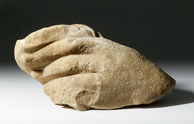ARTEMIS GALLERY Roman Marble Sculpture of Over-sized Hand