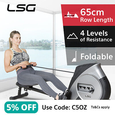 LSG ROWER306 Rowing Machine #Exercise Machine Fitness Cardio Strength