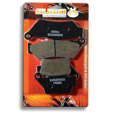 BMW Front + Rear Brake Pads G 650 XChallenge XCountry (07-09) G650GS (2009-2016)