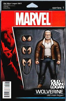 Old Man Logan #1 Action Figure Variant All New All Different Marvel 2016