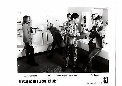 "Artificial Joy Club 8x10"" Original Glossy B&W Band Promo Photo FREE SHIPPING"