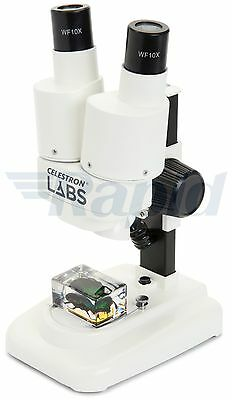Celestron Labs 44207-CGL CL-S20 Stereo Microscope Kit