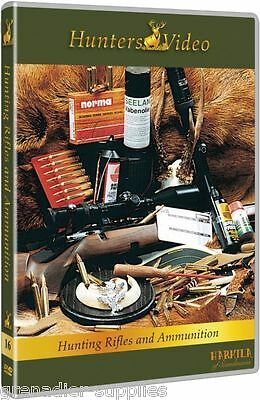Hunting Rifles And Ammunition Hunters Video Dvd