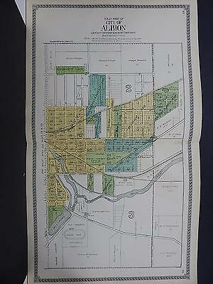 Michigan, Calhoun County Map, 1916 City of Albion 2-Double Pages J20#54