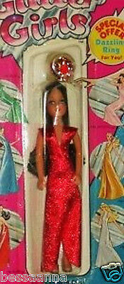 Vogue Glitter Girls Doll Ruby Mint On Card 1982