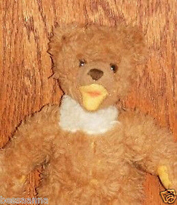 Antique Vintage Brown w White Markings 7.5 Inches Steiff Sweet Cosy Teddy Bear