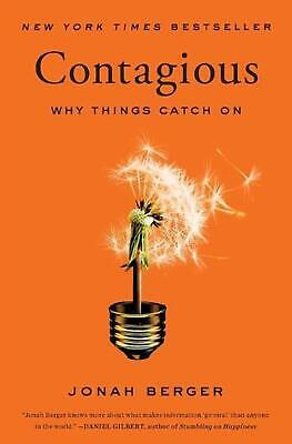 Contagious: Why Things Catch on by Jonah Berger (English) Paperback Book Free Sh