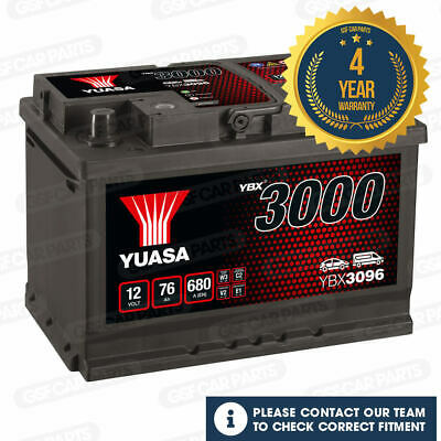 VW Eos 1F7 1F8 2006-2016 Vetech Battery 70Ah Electrical System Replacement Part
