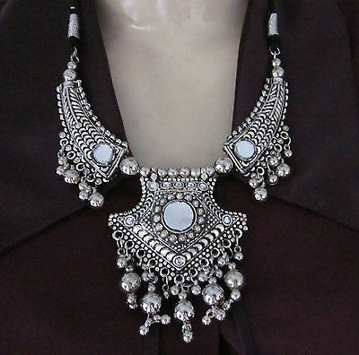 Tribal Kuchi Festival COSTUME JEWELRY Bellydance Banjara Necklace Earring Goth