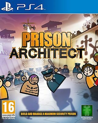 Prison Architect PS4 BRAND NEW SEALED UK OFFICIAL