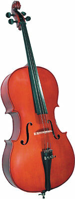 Cremona SC-100 1/2 HALF SIZE CELLO OUTFIT, Premier Novice. From Hobgoblin Music