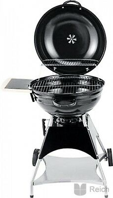 BBQ Kettle Grill Charcoal Burnaby 53,5cm Ball Barbecue Cart Wheelable Wheeled