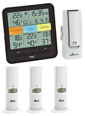 Add 7 Klimahome Tfa 31.4007.02 Climate Control Thermo Hygrometer Weatherhub