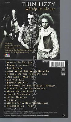 Cd--Thin Lizzy--Whisky In The Jar | Import