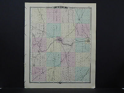 Wisconsin, Map 1881, Rock or Janesville County L23#46