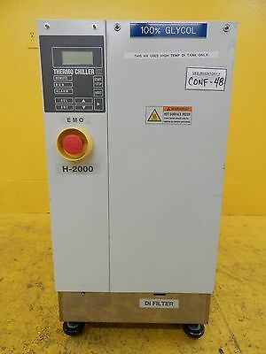 H-2000 SMC INR-498-012C Thermo Chiller HX 100% Glycol Used Tested Working