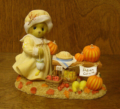 """Cherished Teddies #4040455 JANE, """"DISCOVER AUTUMN'S TREASURES"""" From Retail Store"""
